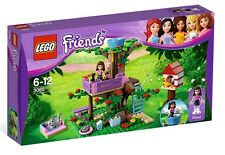 Lego Friends 3065 Olivia's Tree House Bird Cat Fish Flowers Butterfly NISB RARE!