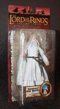 LORD OF THE RINGS GANDALF THE WHITE FIGURE with Staff THE TWO TOWERS NEW