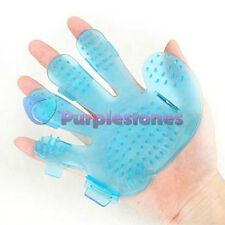 Body & Hair cleaning Washing Scalp Massage Massager Glove brush Comb for Pets *1