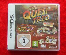 The Quest Trio 3 jeu classique en 1, Nintendo DS Jeu, nouvelle Version allemande