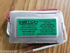 Hatch RS12-30M-LED 120V 11.5V 30WATT MAX FOR 12V LED