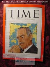 TIME magazine January 8 1951 Jan 1/8/51 DEAN ACHESON STATE DEPARTMENT