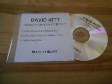 CD Indie David Kitt - Song From Hope Street (3 Song) BLANCO Y NEGRO