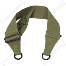 Original US Army M36 MUSETTE BAG SHOULDER STRAP - WW2 American Olive Canvas