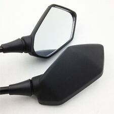 For Kawasaki Z1000 Z750 ER6 ER6B ER-6N Versys KLE Black Rear side mirror