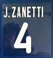 inter kit ZANETTI plastichina Nameset maglia calcio nike