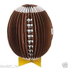 1 FOOTBALL Tailgate Super Bowl Party Decoration Paper Lantern CENTERPIECE