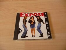 CD Expose - What you don`t know - 1989 incl. When I looked at him
