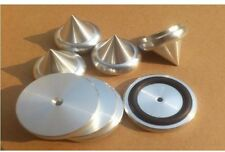4pcs with rubber ring suspension damping aluminum speaker spikes amplifier feet
