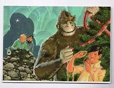 RODIER : Tchang Tintin et le yéti. Carte de la Maison Mononc Archibald. Canada.