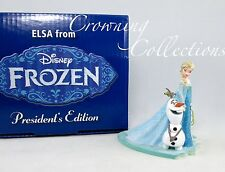 Grolier Disney Queen Elsa and Olaf President's Edition Ornament Early Moments