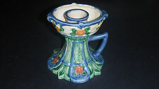 MARUHON WARE CIRCLE K CANDLE STICK HOLDER CHAMBERSTICK MADE IN JAPAN