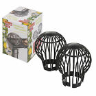 4 x Gutter Leaf Debris Trap Guard Drain Pipe Cover Downpipe Rainwater Protection
