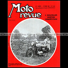 MOTO REVUE N°1482-c BSA 500 STAR TWIN NORTON MANX 500 KARTING TRIAL NEMOURS 1960