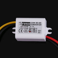 New DC12V Step Down to 5V 3A 15W Converter Car Led Display Power Supply Module