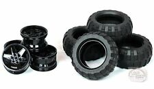 LEGO Technic - Balloon Tire x 4 w/ Rims - 9398 - New
