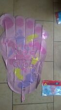 """ITS A GIRL  28"""" FOIL HELIUM BALLOON SUPER SHAPED FOOT NEW SEALED"""