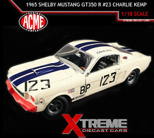 ACME A1801812 1:18 1965 FORD SHELBY MUSTANG GT350 R #23 CHARLIE KEMP LTD 996PCS
