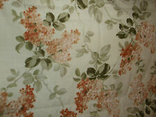 2004 MARTHA PULLEN HANCOCK FABRICS OLD PARIS FLORAL FABRIC/MATERIAL 14 YARDS