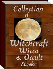 Collection of Witchcraft Wicca and Occult PDF eBooks With MRR - Free Shipping
