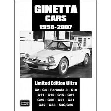 Ginetta Cars Limited Edition Ultra 1958-2007 book paper