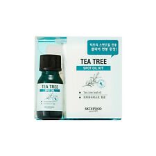 SKINFOOD [Skin food] Tea Tree Spot Oil Kit 10ml + Swab 50EA Free gifts