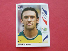 422 TONY POPOVIC AUSTRALIA PANINI FOOTBALL GERMANY 2006 WM FIFA WORLD