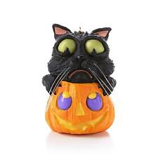 Hallmark Keepsake Halloween Ornament 2013 Cat O' Lantern - #QFO5212