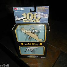 CORGI 100 YEARS OF FLIGHT SPACE SHUTTLE & WRIGHT BROTHERS AIRPLANE 2 PACK