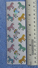 Sandylion UNICORNS Vintage 80's RETIRED Prismatic Stickers VERY RARE