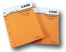 CASE W 14 W14 WHEEL FRONT LOADER SERVICE CATALOG MANUALS REPAIR TECHNICAL SHOP