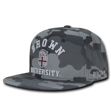 NCAA Brown University Camo Camouflage Snapback Baseball Caps Hats