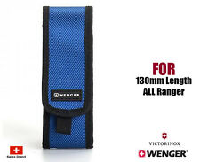 Wenger Swiss Army Blue Nylon Belt Pouch For 130mm Victorinox Ranger Knife