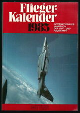 """FLIEGER KALENDER 1985 Me 109 """"GUSTAV"""" INT.JAHRBUCH DER LUFT & RAUMFAHRT MITTLER"""