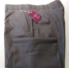 CHARLES TYRWHITT GREY CHECK WOOL & CASHMERE TROUSERS NEW WITH TAGS W 40