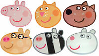 PEPPA PIG MULTIPACK - 6 FUN PARTY FACE MASKS - LICENSED PRODUCT