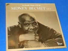 LOT 2 LP sydney BECHET double disque d'or JAZZ vogue 416033 luter LONGNON tibaut