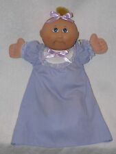 Sweet Cabbage Patch Baby Doll In Purple Gown