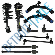 Brand New 10pc Complete Front Suspension Kit + Both Ready Struts Dodge Mini Vans