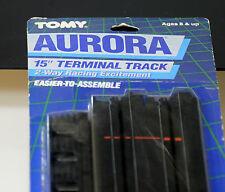 """New Tomy Aurora/ AFX track. 15"""" Terminal Track. Ref. 8627."""