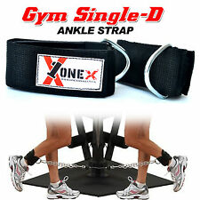 Fitness Onex Gym Ankle Straps 1D Weight Lifting Straps Exercises Body Building