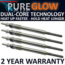 FOR CITROEN NEMO 1.3 2010 ON DIESEL HEATER GLOW PLUGS FULL SET OF 4 HDI