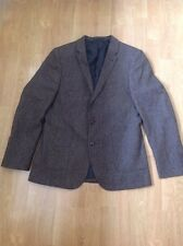 GREAT TAYLOR & WRIGHT MATALN MENS BROWN FLECKED BLAZER UK SIZE 42R SLIM FIT NWOT