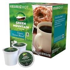 Green Mountain Coffee Classic Donut Blend Light Roast Coffee K-Cup pods 18ct