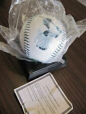 Ken Griffey Jr. Collection. 1996 BP Baseball with COA and stand, Two Pins + SI