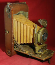 SIGNAL CORPS MODEL K-3 CAMERA. KODAK. GREEN & BROWN. ONLY 100 MADE. WWI VINTAGE