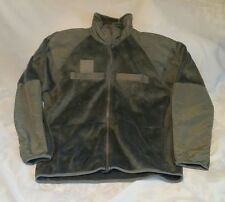 US MILITARY ISSUE ECWCS LEVEL 3 FLEECE JACKET FOLIAGE GREEN SMALL SHORT