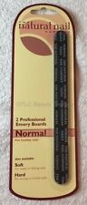 JESSICA PROFESSIONAL NAIL FILE EMERY BOARD FOR NORMAL NAILS - TWIN PACK BNIB