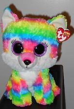 """NMT* Ty Beanie Boos ~ RIVER the 8-9"""" Wolf ~ Exclusive ~ NEW with NEAR MINT TAG"""