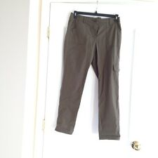 Women's LIZ CLAIBORNE Olive Green Cargo Pants, Size 6, NEW WITH TAGS